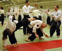 Etualalla Emmin sensogeri pääsiäisleirillä 2006.Kuva Hannes Haapanen